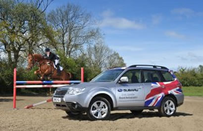 SUBARU BACKS FEMALE EVENTING'S RISING STAR