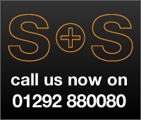 Call s and S now on 01292 880080